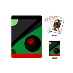 Billiard  Playing Cards (mini)  by Valentinaart