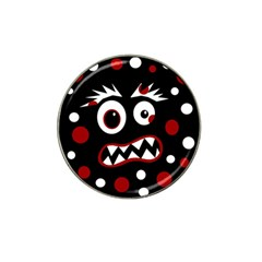 Madness  Hat Clip Ball Marker by Valentinaart