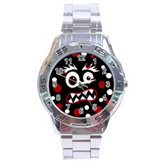 Madness  Stainless Steel Analogue Watch by Valentinaart