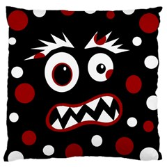 Madness  Large Cushion Case (two Sides) by Valentinaart