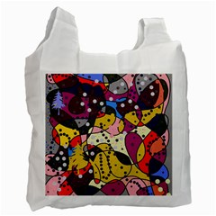 New Year Recycle Bag (two Side)  by Valentinaart