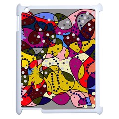 New Year Apple Ipad 2 Case (white) by Valentinaart