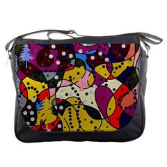 New Year Messenger Bags by Valentinaart