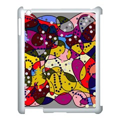 New Year Apple Ipad 3/4 Case (white) by Valentinaart