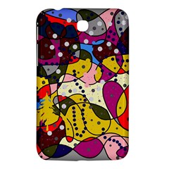 New Year Samsung Galaxy Tab 3 (7 ) P3200 Hardshell Case  by Valentinaart