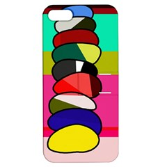 Zen Apple Iphone 5 Hardshell Case With Stand by Valentinaart