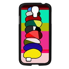 Zen Samsung Galaxy S4 I9500/ I9505 Case (black) by Valentinaart