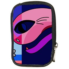 Strange Love Compact Camera Cases by Valentinaart