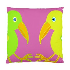 Parrots Standard Cushion Case (one Side) by Valentinaart