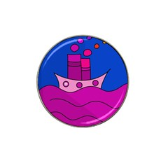 Boat Hat Clip Ball Marker by Valentinaart