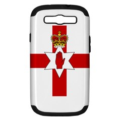 Ulster Banner Samsung Galaxy S Iii Hardshell Case (pc+silicone)