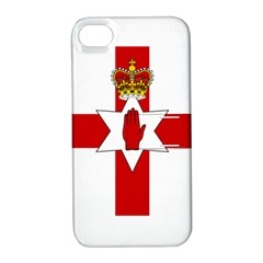 Ulster Banner Apple Iphone 4/4s Hardshell Case With Stand