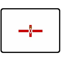 Ulster Banner Double Sided Fleece Blanket (large)
