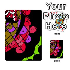 Elegant Abstract Decor Multi Purpose Cards (rectangle)