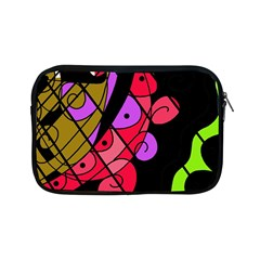 Elegant Abstract Decor Apple Ipad Mini Zipper Cases by Valentinaart
