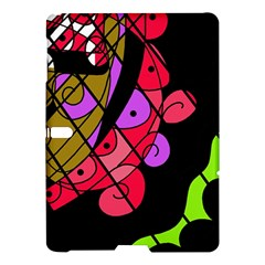 Elegant Abstract Decor Samsung Galaxy Tab S (10 5 ) Hardshell Case  by Valentinaart