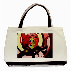 Octopus Basic Tote Bag by Valentinaart