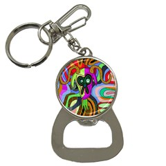 Colorful Goat Bottle Opener Key Chains by Valentinaart