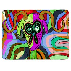 Colorful Goat Samsung Galaxy Tab 7  P1000 Flip Case by Valentinaart