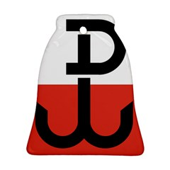 Flag Of The Polish Underground State, 1939-1945 Bell Ornament (2 Sides)