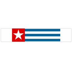 Flag Of Free Papua Movement  Flano Scarf (large)