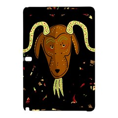 Billy Goat 2 Samsung Galaxy Tab Pro 10 1 Hardshell Case by Valentinaart