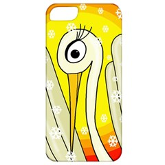 Crane Apple Iphone 5 Classic Hardshell Case by Valentinaart