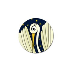 Crane 2 Golf Ball Marker (4 Pack) by Valentinaart