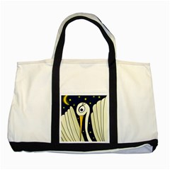Crane 2 Two Tone Tote Bag by Valentinaart