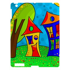 Two Houses  Apple Ipad 3/4 Hardshell Case by Valentinaart