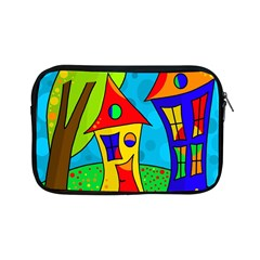 Two Houses  Apple Ipad Mini Zipper Cases by Valentinaart