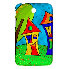 Two Houses  Samsung Galaxy Tab 3 (7 ) P3200 Hardshell Case  by Valentinaart
