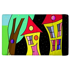 Two Houses 2 Apple Ipad 3/4 Flip Case by Valentinaart