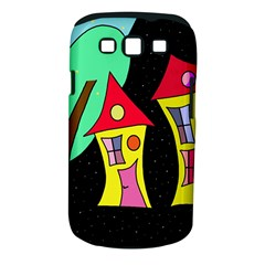 Two Houses 2 Samsung Galaxy S Iii Classic Hardshell Case (pc+silicone)