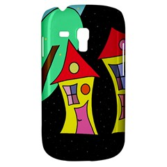 Two Houses 2 Samsung Galaxy S3 Mini I8190 Hardshell Case by Valentinaart