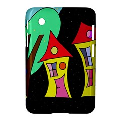 Two Houses 2 Samsung Galaxy Tab 2 (7 ) P3100 Hardshell Case  by Valentinaart