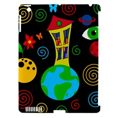 Playful Universe Apple Ipad 3/4 Hardshell Case (compatible With Smart Cover) by Valentinaart
