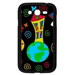 Playful Universe Samsung Galaxy Grand Duos I9082 Case (black) by Valentinaart