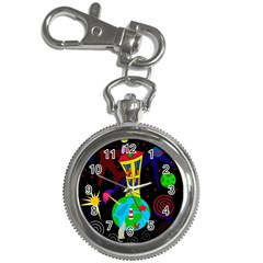 Colorful Universe Key Chain Watches by Valentinaart