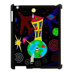 Colorful Universe Apple Ipad 3/4 Case (black) by Valentinaart