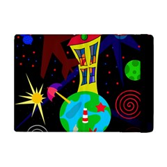 Colorful Universe Ipad Mini 2 Flip Cases by Valentinaart