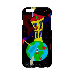 Colorful Universe Apple Iphone 6/6s Hardshell Case by Valentinaart
