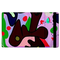 Decorative Abstraction Apple Ipad 3/4 Flip Case by Valentinaart
