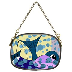 Whale Chain Purses (two Sides)  by Valentinaart