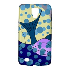 Whale Galaxy S4 Active by Valentinaart