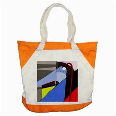 Street Light Accent Tote Bag by Valentinaart
