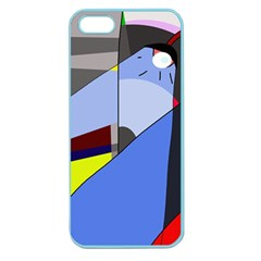 Street Light Apple Seamless Iphone 5 Case (color) by Valentinaart
