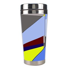 Street Light Stainless Steel Travel Tumblers by Valentinaart