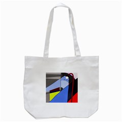 Street Light Tote Bag (white) by Valentinaart