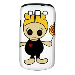 Cute Doll Girl Samsung Galaxy S Iii Classic Hardshell Case (pc+silicone)